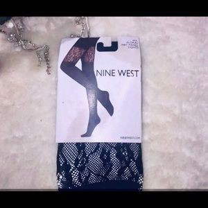 🆑2 For$20+4.99 Ship Floral Panel Net Stockings ML